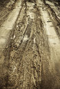 Dirty Road Royalty Free Stock Images - 16463419