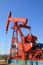 Oil Pump Jack Royalty Free Stock Photo - 16478605