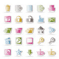 25 Detailed Internet Icons Royalty Free Stock Photo - 16487555