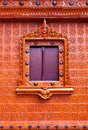 Thai Style Window In Temple Royalty Free Stock Image - 16488036