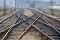 A View Of A Railway Track Stock Images - 1657614