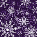 Background With Snowflakes Stock Images - 16513654