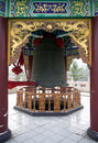Temple Big Bell Tower Royalty Free Stock Image - 16527456