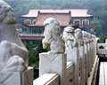 Chinese Marble Lions Stock Photography - 16527622