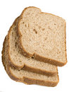 Slices Of Black Ray Grain Bread Stock Images - 16533864