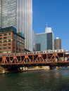 The Chicago Elevated Train Royalty Free Stock Images - 16536209