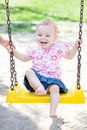 Baby Girl Outdoor Stock Images - 16536534