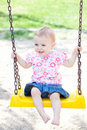 Baby Girl Outdoor Royalty Free Stock Images - 16536539