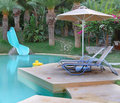 Waterslide And Swimming Pool Stock Photos - 16556383