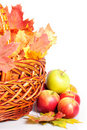 Apple And Basket Stock Photos - 16597483