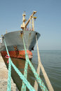 Large Ship Moored In The Port Royalty Free Stock Photo - 1662585
