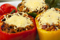Stuffed Peppers Close Up. Royalty Free Stock Photo - 16618935