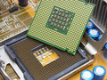 Close-up Mother Board Stock Image - 16635041