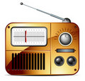 Old FM Radio Icon Royalty Free Stock Images - 16640729