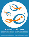 Fork Tailed Fish Design. Royalty Free Stock Photography - 16649657