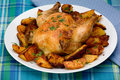 Roasted Cornish Hen Royalty Free Stock Images - 16658309