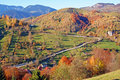 Sunny Autumn Day On Mountain Top Stock Images - 16660724