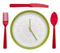 Meal Time Concpet Royalty Free Stock Images - 16674689
