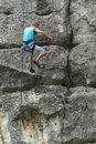 Rock Climber Royalty Free Stock Photo - 16691085
