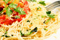 Pasta And Tomatoes Stock Photo - 16691470