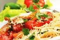 Vegetables And Pasta Royalty Free Stock Photography - 16691677