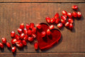 Heart And Pomegranate Royalty Free Stock Images - 16702749