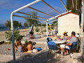 Family In Camping Resort At Summer Stock Image - 16741011