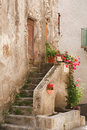 Stone Steps To Rustic House Royalty Free Stock Photo - 16750725