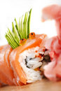 Red Sushi  Dragon Stock Photo - 16756560