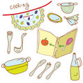 Cooking Set Royalty Free Stock Photography - 16776437