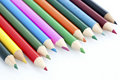 Close-up Of Children Stationery Color Pencil Stock Image - 16788151
