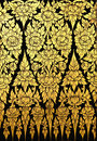 Flower Pattern In Traditional Thai Style Art Stock Images - 16791714