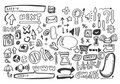 Hand Draw Web Icon,vector Royalty Free Stock Images - 16794089