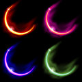 4 Crescent Moons Stock Images - 1682324