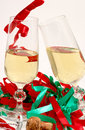 Party And Champagne Glasses Royalty Free Stock Photos - 1685968