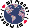 I Love My Planet Stock Image - 16800201