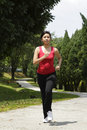 Running Woman Royalty Free Stock Photography - 16806207