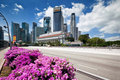 Scenic View Of Business District, Singapore City Royalty Free Stock Images - 16808299