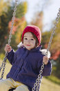 Swinging Girl Royalty Free Stock Image - 16809936