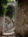 Arch Pathway In Old Town Stock Photography - 16815572