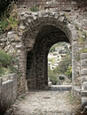 Arch Pathway In Old Town Stock Photo - 16815590