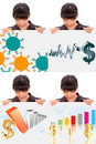 Dollar Evolution Collage Stock Images - 16827024