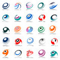 Spiral Movement And Rotation. Design Elements. Royalty Free Stock Photos - 16830978