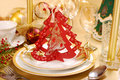 Christmas Table Decoration Royalty Free Stock Photography - 16850997