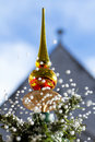 Lovely Snowing Christmas Tree Stock Images - 16862324