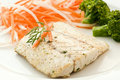 Barramundi Filet With Chips Stock Images - 16872324