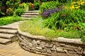 Natural Stone Landscaping Royalty Free Stock Photography - 16882307