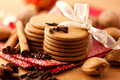 Heart Shaped Gingerbread Cookies Royalty Free Stock Images - 16890409