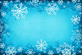 Blue Background With Snowflakes Stock Photo - 16890830