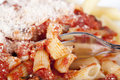 Penne With Tomato Sauce Stock Photos - 16922233